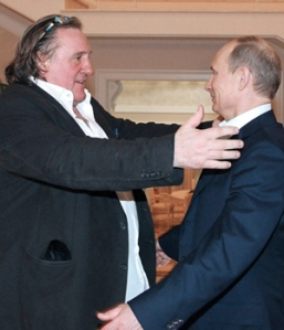 Depardieu claimed he drinks 'up to 14 lorry-loads of wine every day'
